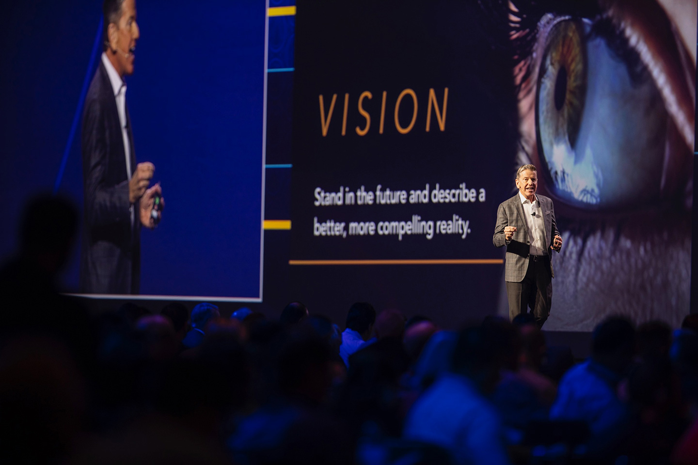 Wide screen projection allows your amazing content and keynote speaker to shine!